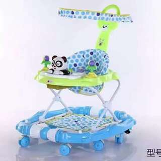Hello kitty and panda 3 in 1 baby walker and rocker