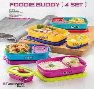 Tupperware-Foodie Buddy (4pcs)