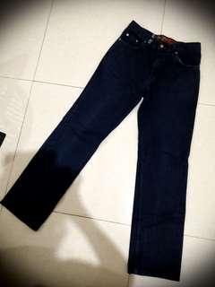 Celana Jeans PRIA Size 32 BIRU TUA Import Brand Favo