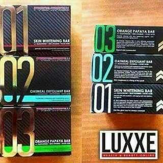 LUXXE SOAP 01, 02, 03