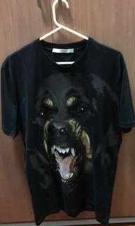 Givenchy Rottweiler Cuban Printed T-Shirt (101% Authentic)