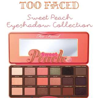 🐚 Sweet Peach Eyeshadow Collection