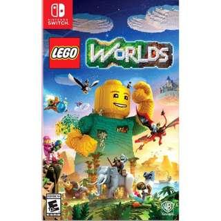 [NEW & SEALED + PROMO] Switch LEGO Worlds English Version [AS]
