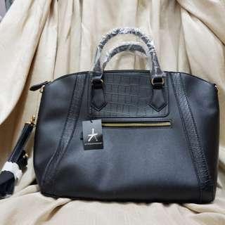 PRIMARK Black Leather Bag