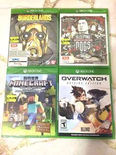 BRAND NEW UNOPENED XBOX ONE GAMES