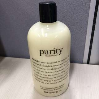Purity cleanser 480 ml