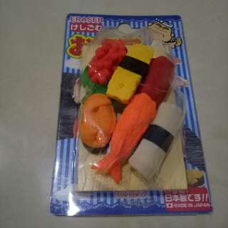 Sushi Eraser (Original from Japan)