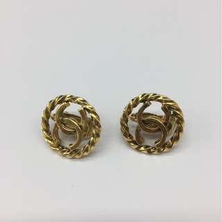 Chanel Vintage  Clip earrings -  Chanel 復古夾耳環
