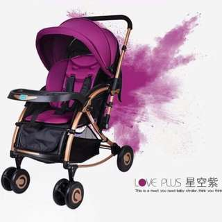 Love plus 2 in 1 stroller