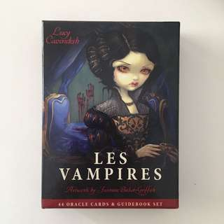 Les Vampires Oracle Cards and Guidebook Set - Lucy Cavendish