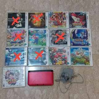 WTS 3DS XL AND GAMES