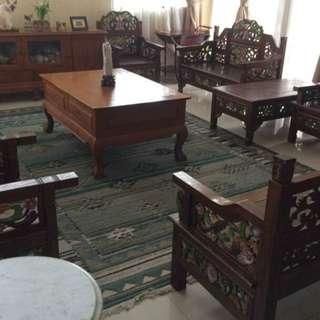 Pure Jati dining room set