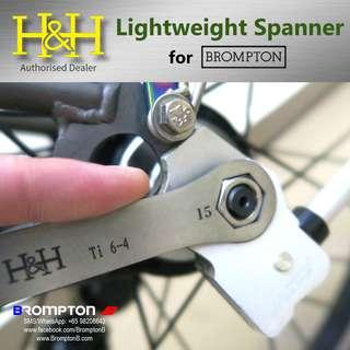 H&H Lightweight Titanium Spanner (8/10/15mm)