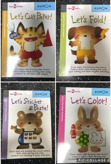 Kumon first steps workbooks