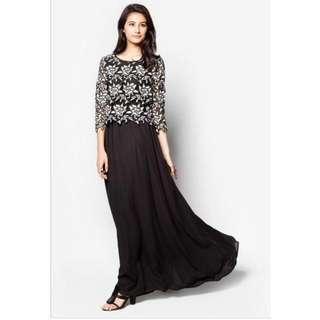 BNWT Zalia Lace Top Maxi Dress