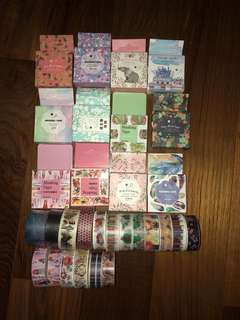 washi tapes
