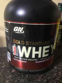 ON Gold Standard Whey Double chocolate