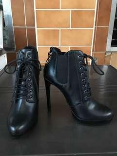 Zara Ankle Boots Heels