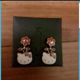 In Stock Sanrio Hello Kitty Earring For Girls