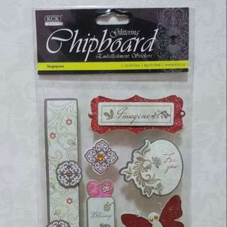 KCK Craft 'Imagine' Embellishment Stickers