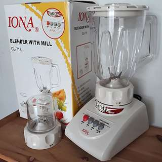 Iona Blender With Mill