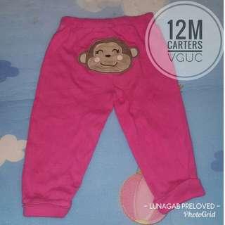 12m carters pajama