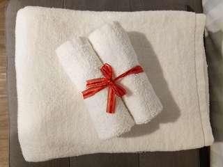New Bath Towel