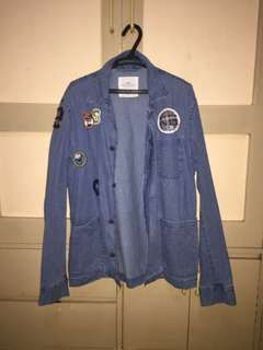 H&M jacket with patches