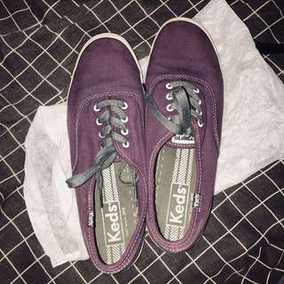 KEDS CHAMPION Purple Plum Canvas Sneaker