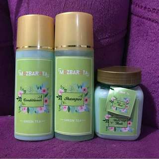 Paket hair treatment