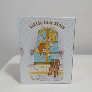 Little twin stars mini notebook