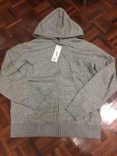 Uniqlo Sweat long sleeve full-zip hoodie
