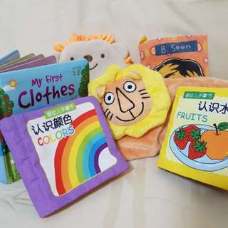 Sensory Toys/ Baby Cloth Books