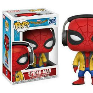 Funko Pop Spider-Man Homecoming Spider-Man Headphones