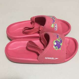 Pre-loved Original Speedo Sea squad slippers for kids