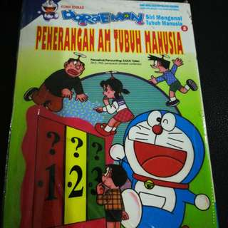 Doraemon tubuh manusia vol 8