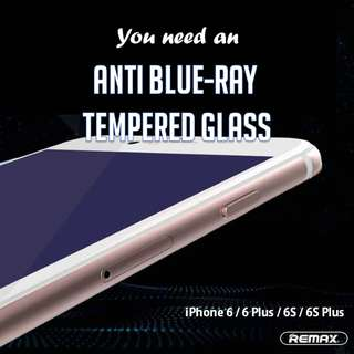 REMAX Anti Blue Tempered Glass Screen protector for iPhones