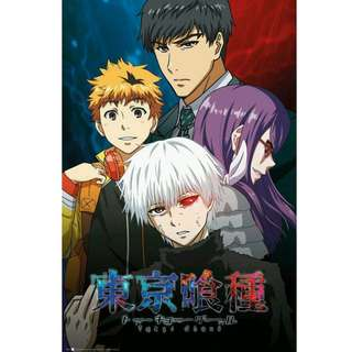 Tokyo Ghoul Conflict Poster