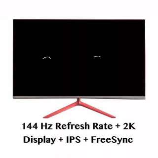 Defective 27 Inch 144Hz 2K Gaming Monitor (New)