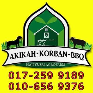 Akikah, Korban, BBQ dan masakan pelbagai majlis.