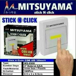 Lampu sentuh LED with Magnet Mitsuyama Ms 8508