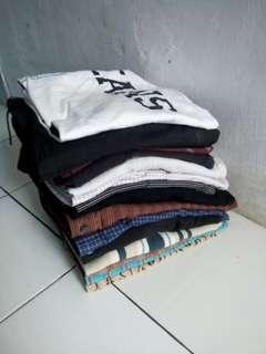 Kemeja, Batik, Kaos, Celana