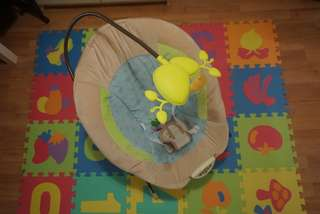 Bundle Comfort Baby Rocking Chair and Playmat