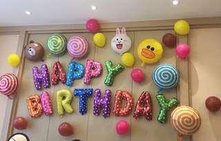 Balloon Set Happy Birthday Party Fun