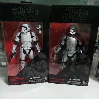 Star Wars The Black Series 6inch - Captain Plasma & First Order Stormtrooper