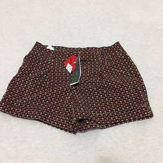 🚚 菱格紋 短褲