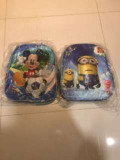 Millions and Mickey Mouse 3D School bag (2 for $30)