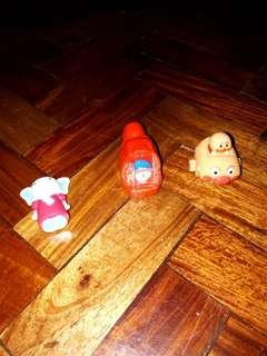 Take 3 japan toys