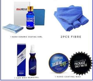 Nano ceramic coating package