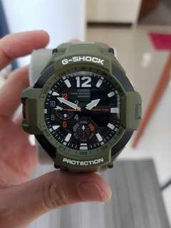 G Shock GA1000 Olive Green